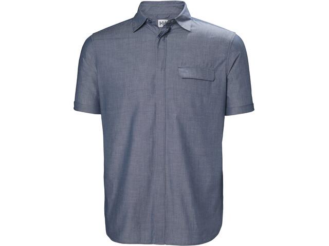 Helly Hansen Huk SS Shirt Herr catalina blue
